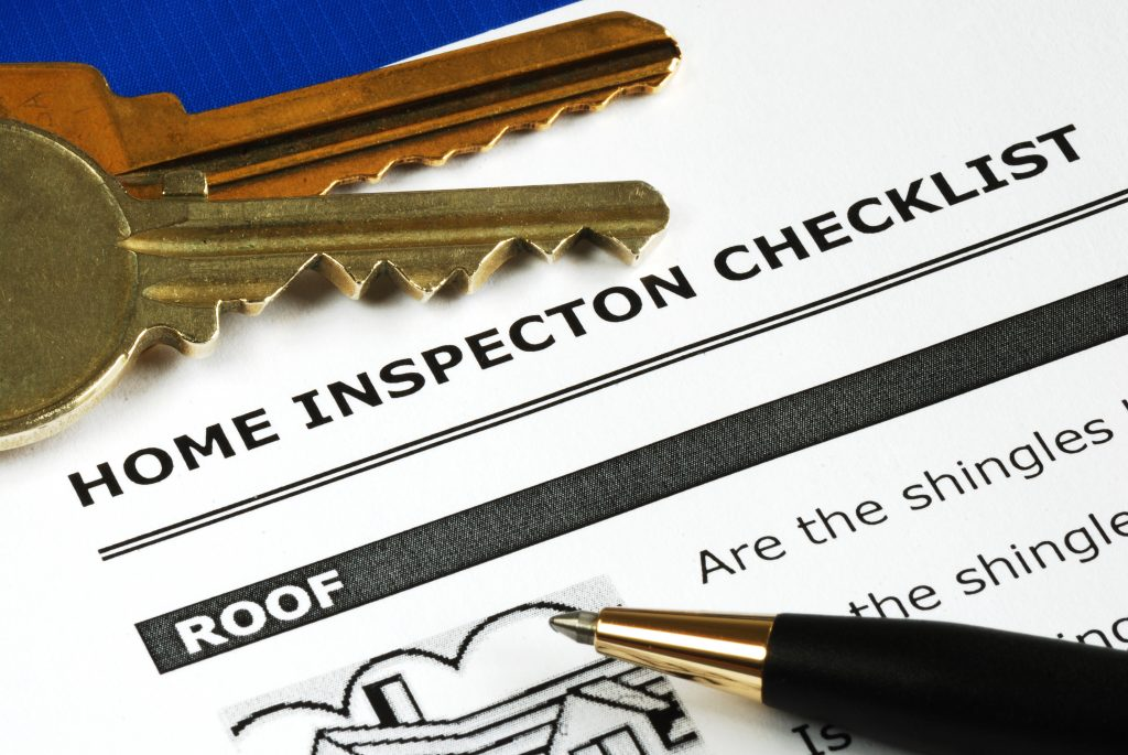 Home inspection checklists buying and selling